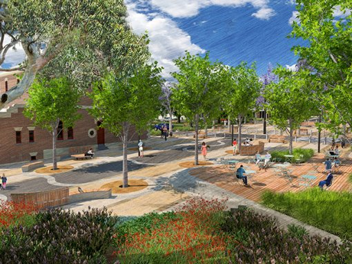 High Street Streetscape Master Plan, Avoca